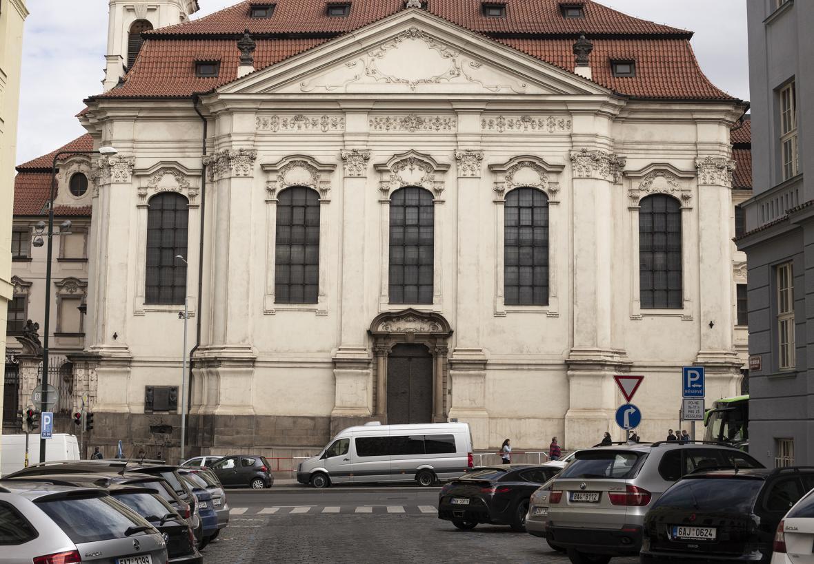 Pravoslavný chrám svatého Cyrila a Metoděje v Praze