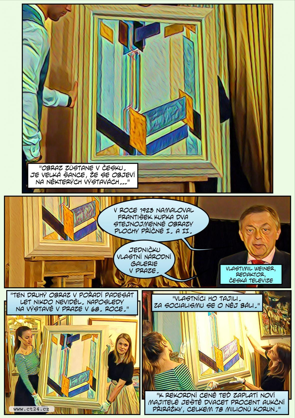 Komiks: Nový český aukční rekord