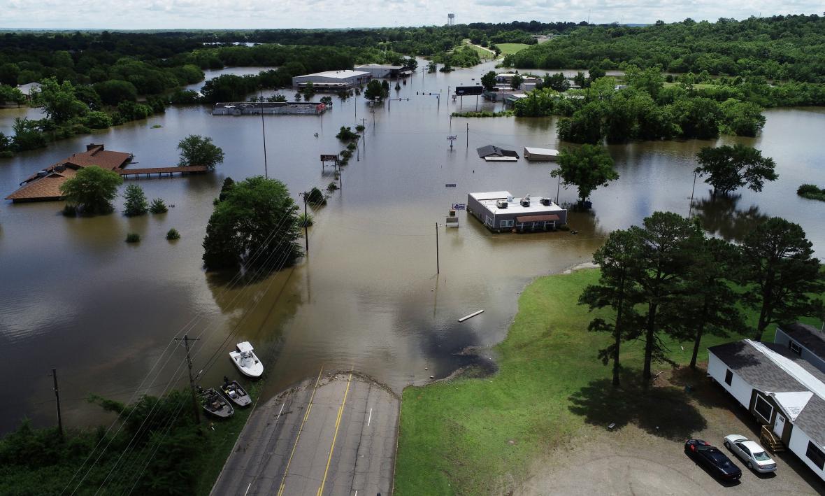 Povodně v Arkansasu