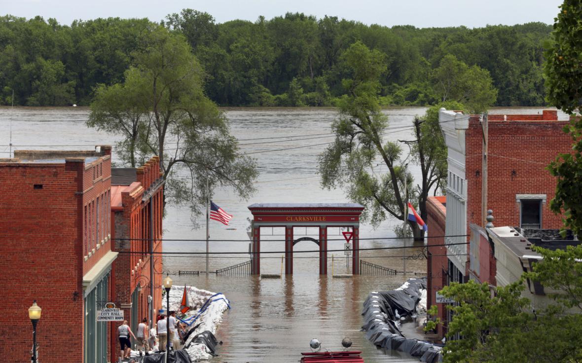 Povodně v Missouri