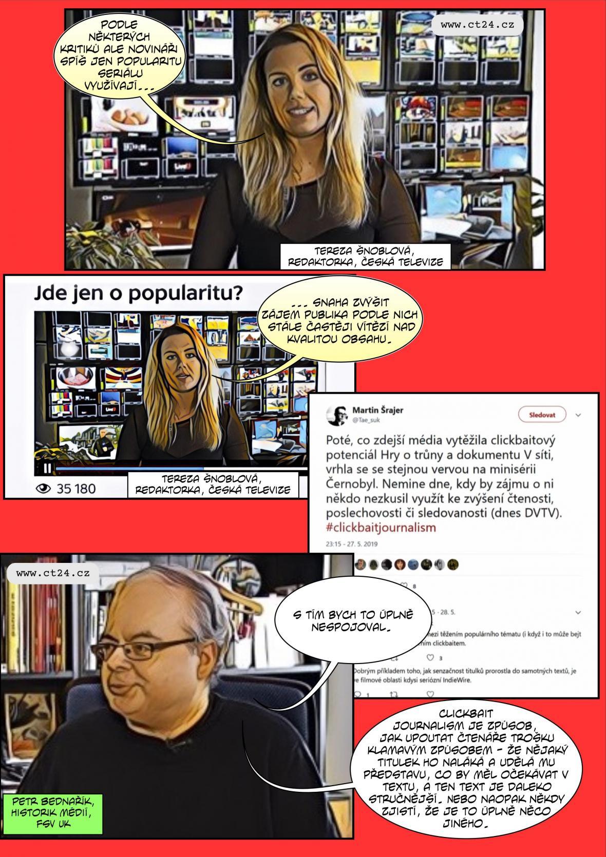 Komiks: Seriály jako výrazná mediální témata
