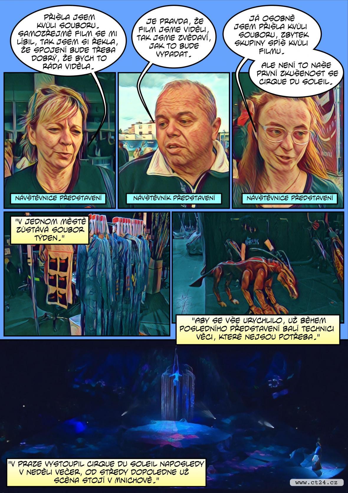 Komiks: Cirque du Soleil