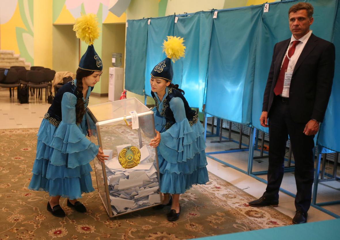 Volby v Kazachstánu