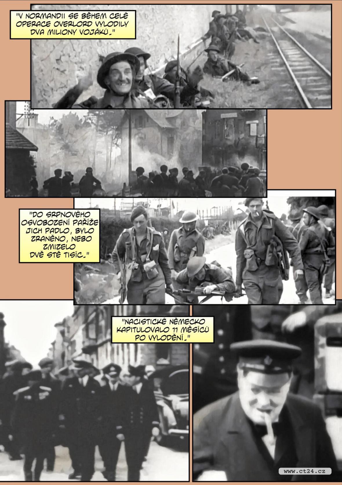 Komiks: Operace Overlord