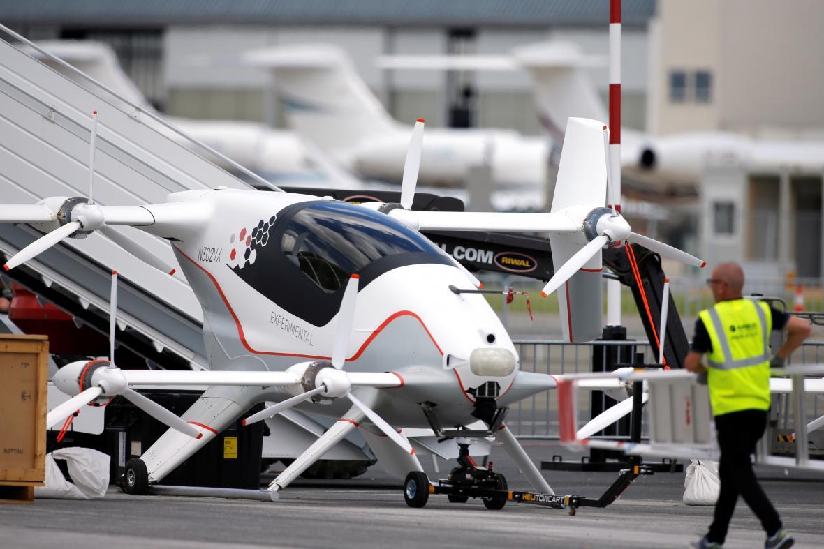Vahana, experimentální letecké taxi společnosti Airbus