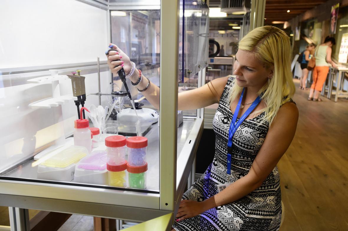 Flowbox, malá laboratoř se sterilním prostředím