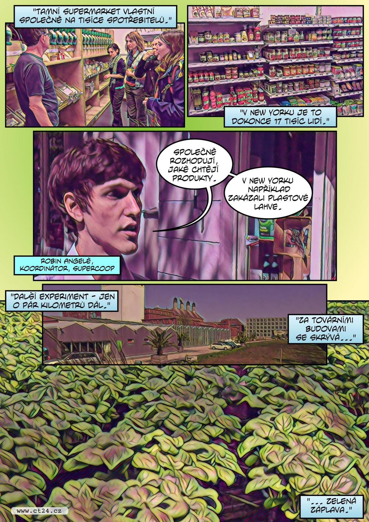 Komiks: Obchod ve vlastnictví zákazníků