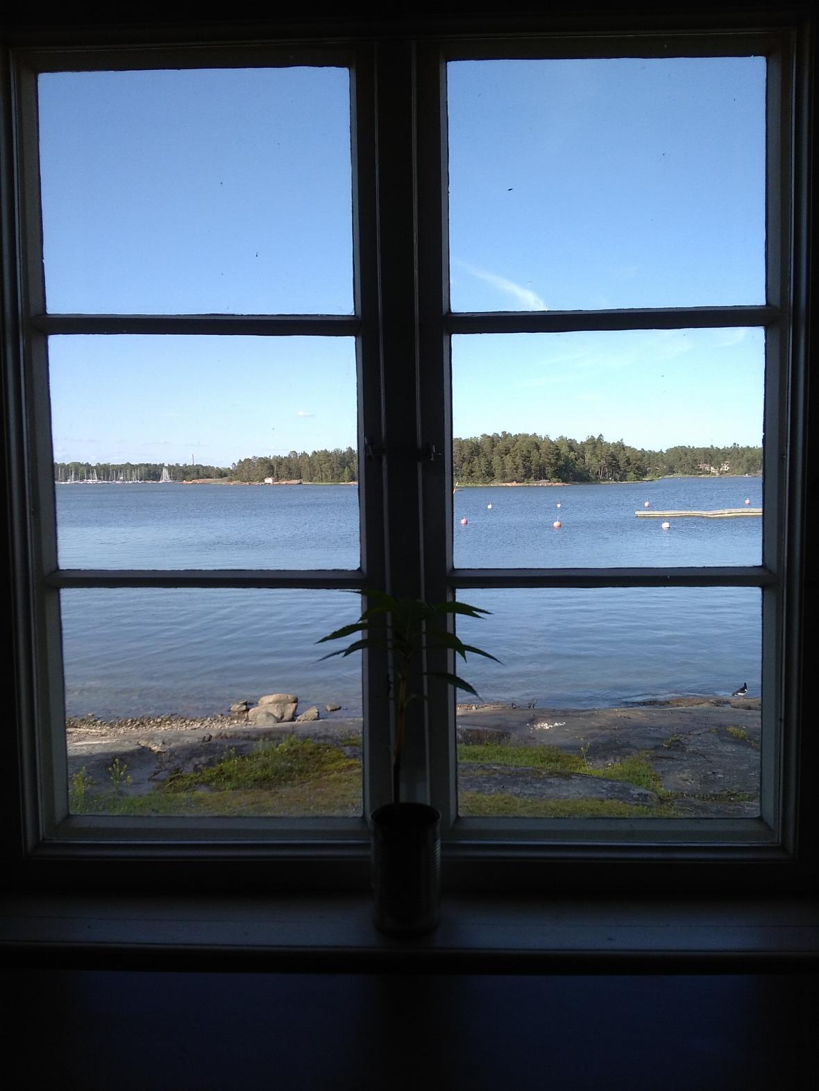 Ostrůvky u města Espoo