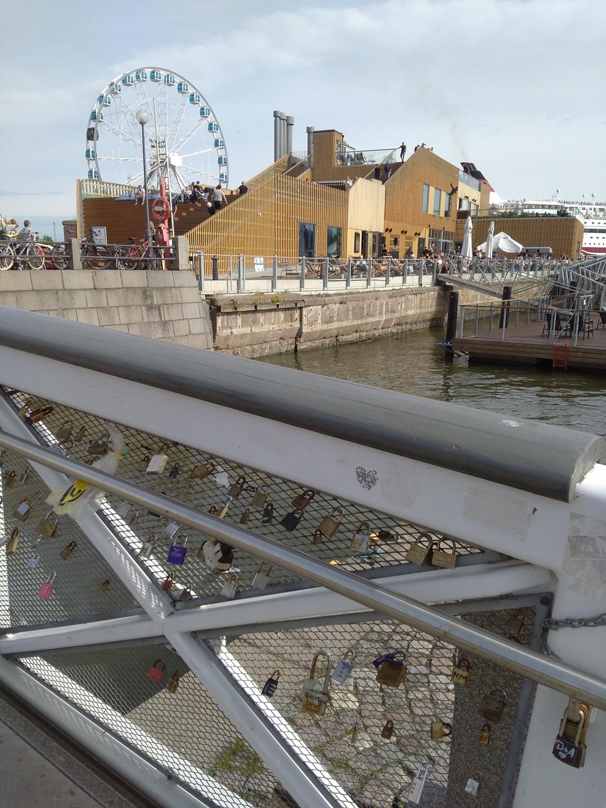 Nové stavby v helsinském přístavu