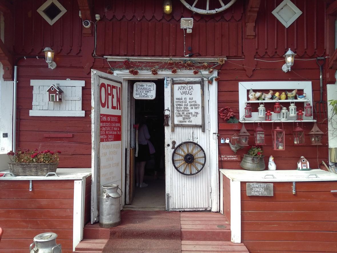 Kavárna v Helsinkách