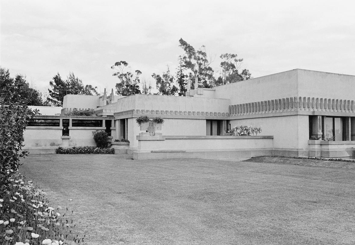 Hollyhock House od architekta Wrighta