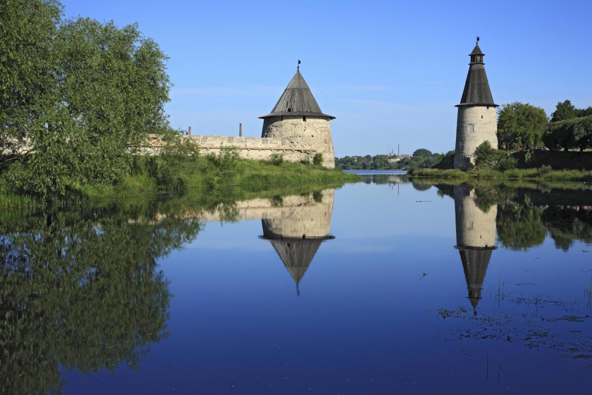 Památky ruského města Pskov