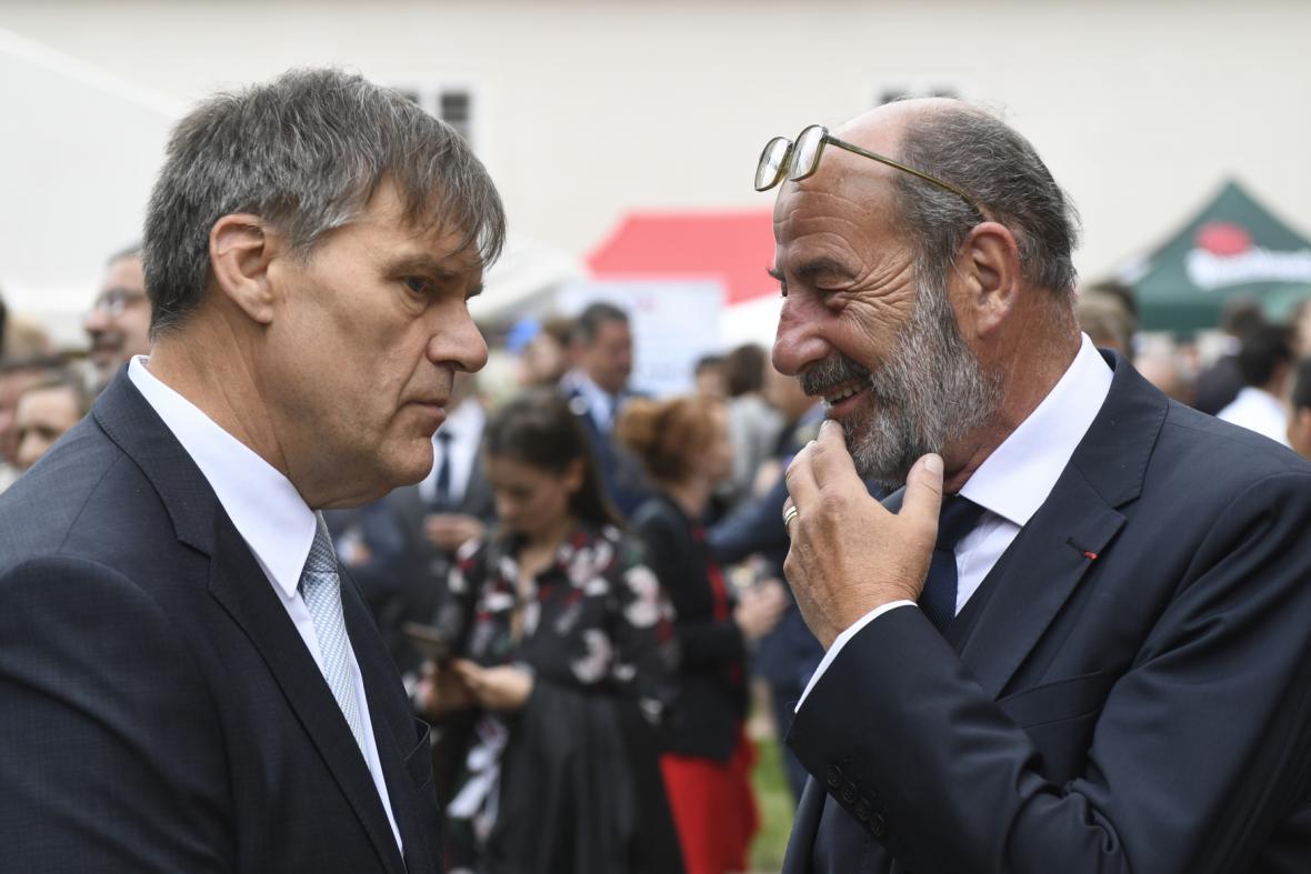 Rudolf Jindrák a Michel Fleischmann