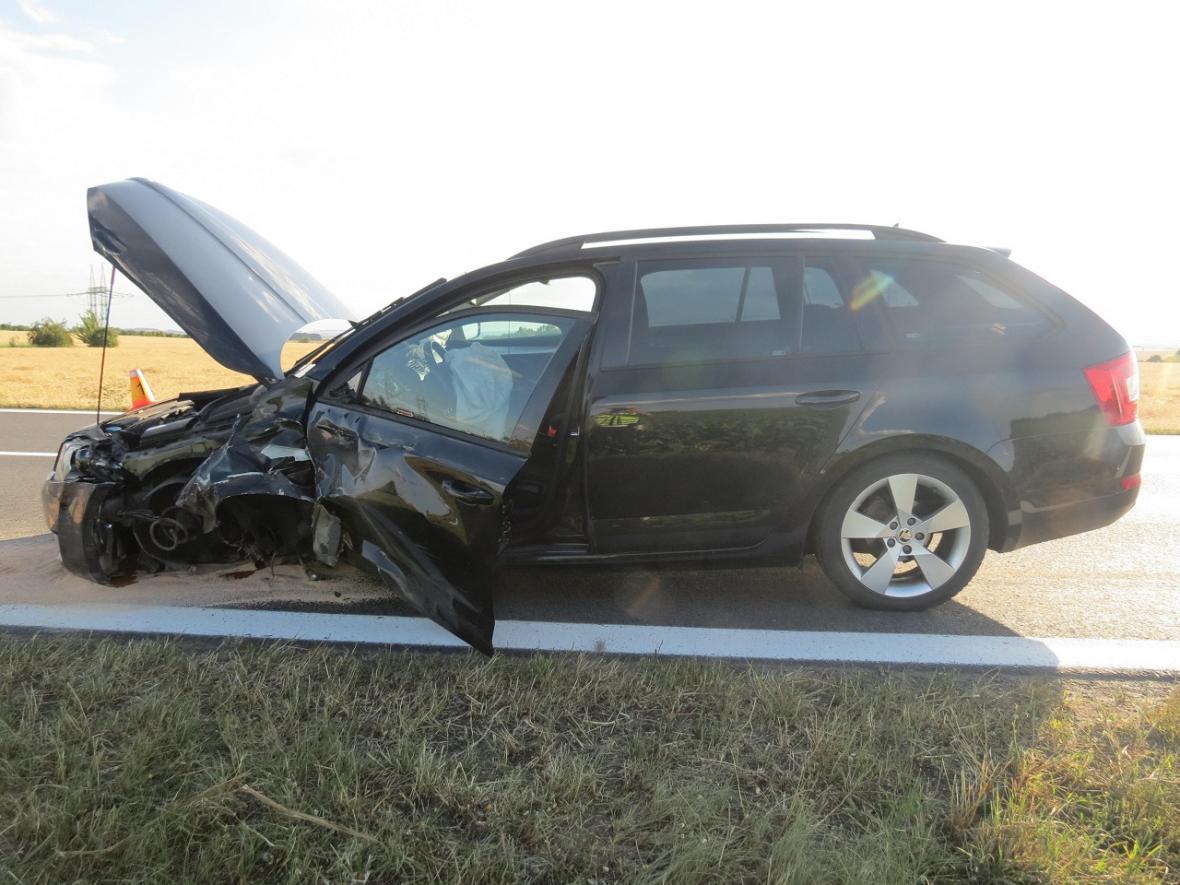 Následky tragické nehody u Dubu nad Moravou