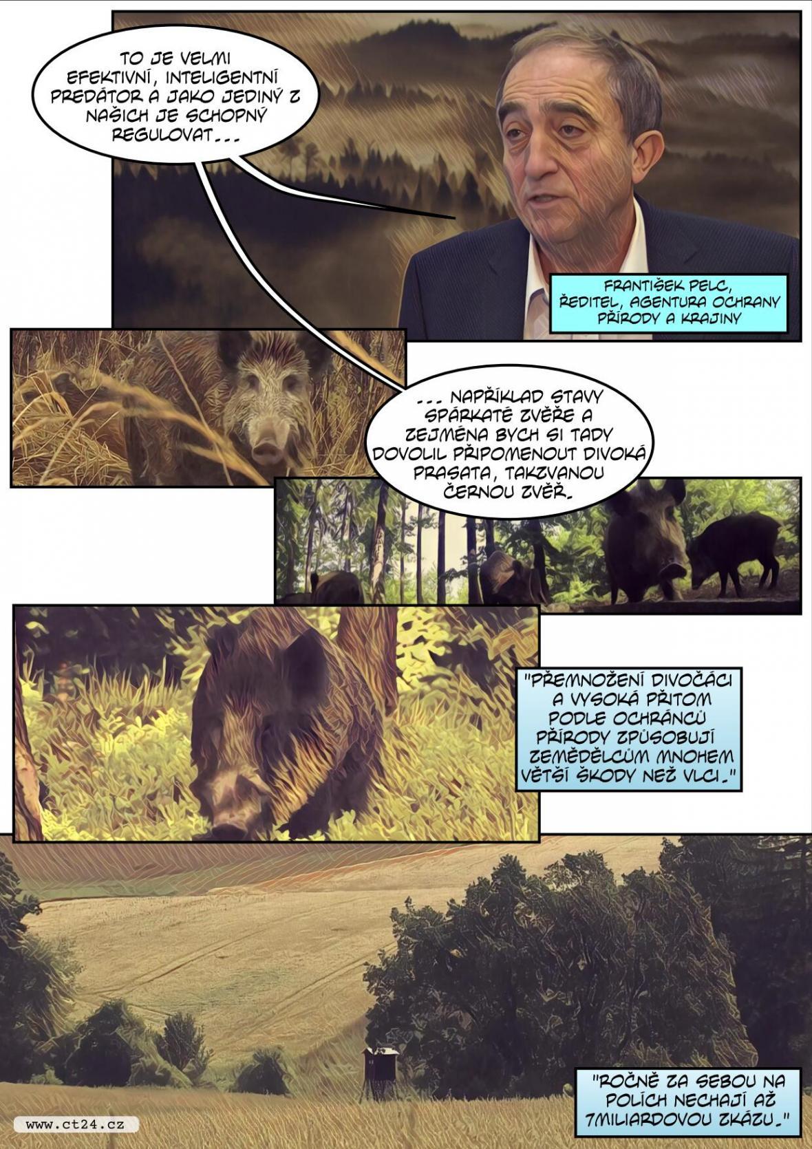 Vlci se rozšířili do Pošumaví