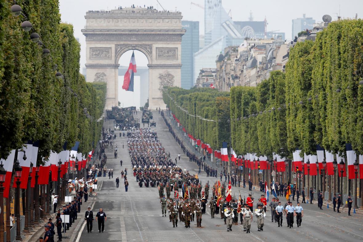 Oslavy výročí 230 let od pádu Bastily