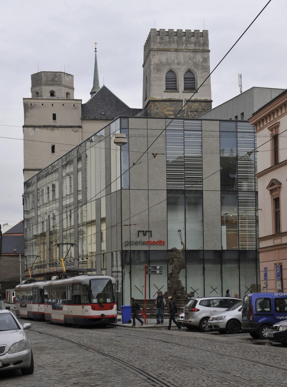 Chrám sv. Mořice v Olomouci před rekonstrukcí