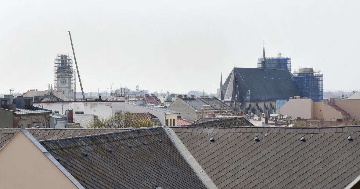 Kromě kostela sv. Mořice se opravuje i budova olomoucké radnice