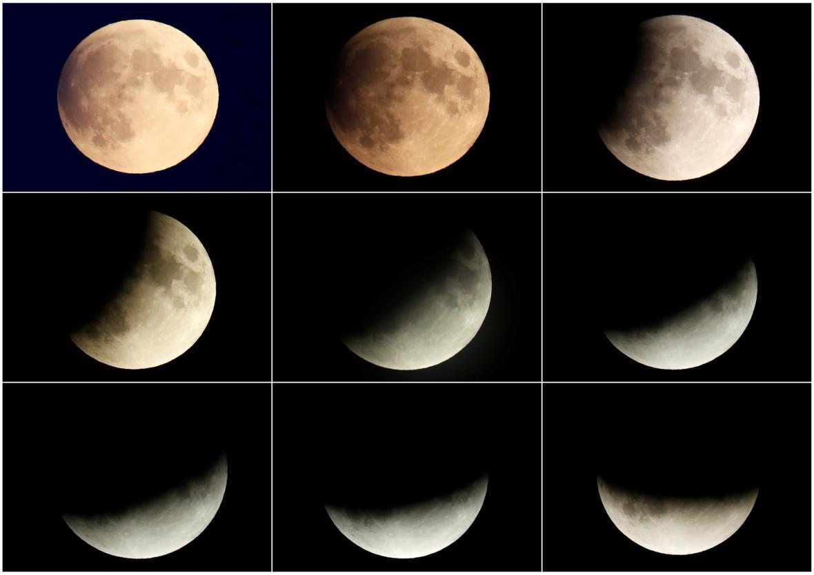 Částečné zatmění Měsíce