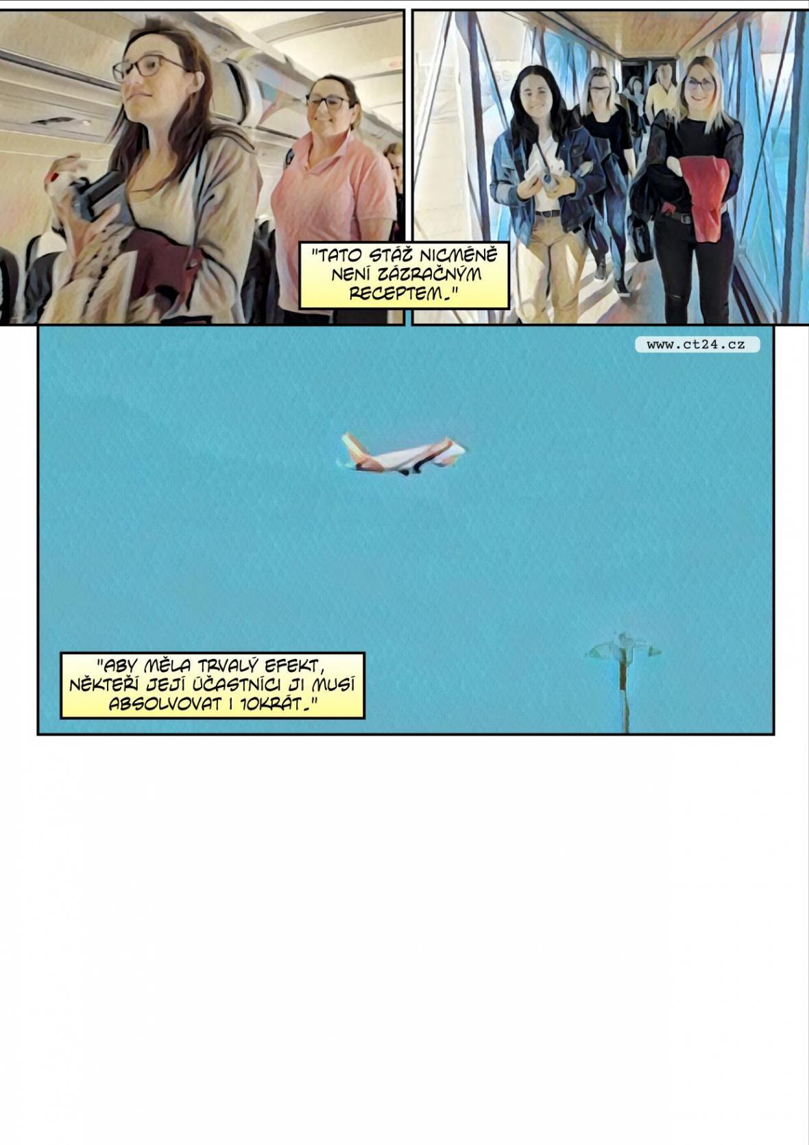 Lék na fobii z létání (komiks)