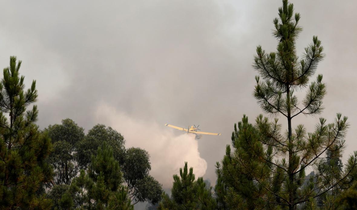 Požáry v Portugalsku