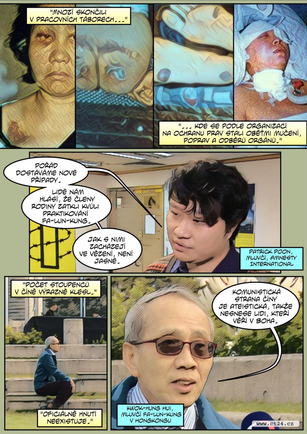 Před dvaceti lety zakázala Čína Fa-lun-kung