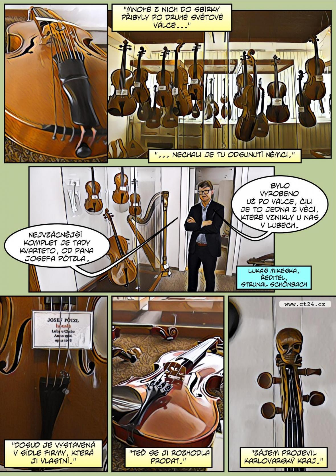 Hudební nástroje - unikátní sbírka