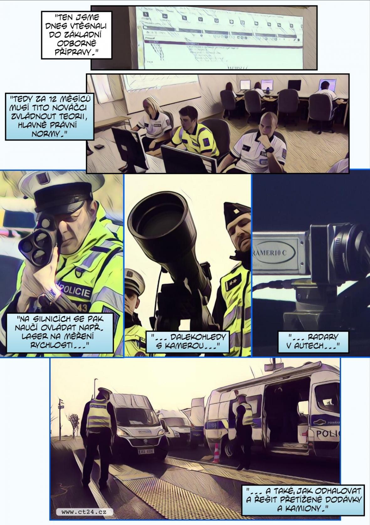 Nové výukové středisko dopravní policie