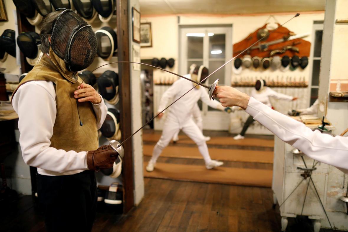 Historický klub šermu