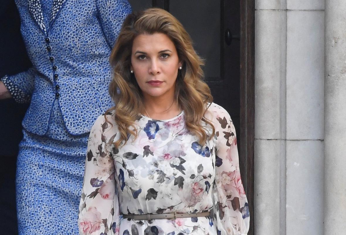 Princezna Hája odchází od londýnského soudu