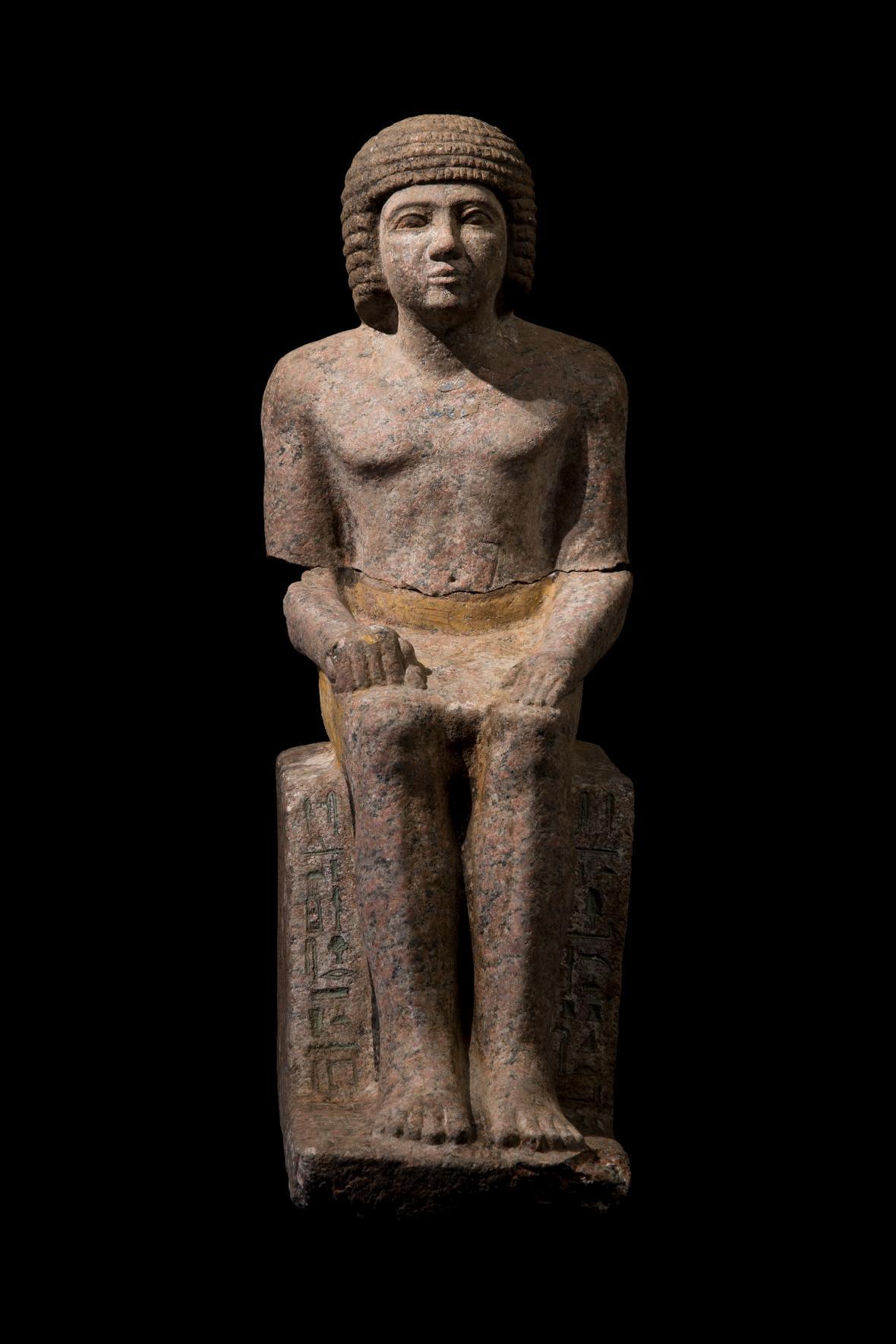 Jméno a podoba Kairese, zřejmě jednoho z nejstarších egyptských mudrců, byla díky loňskému výzkumu na pyramidovém poli opět přivedena k životu