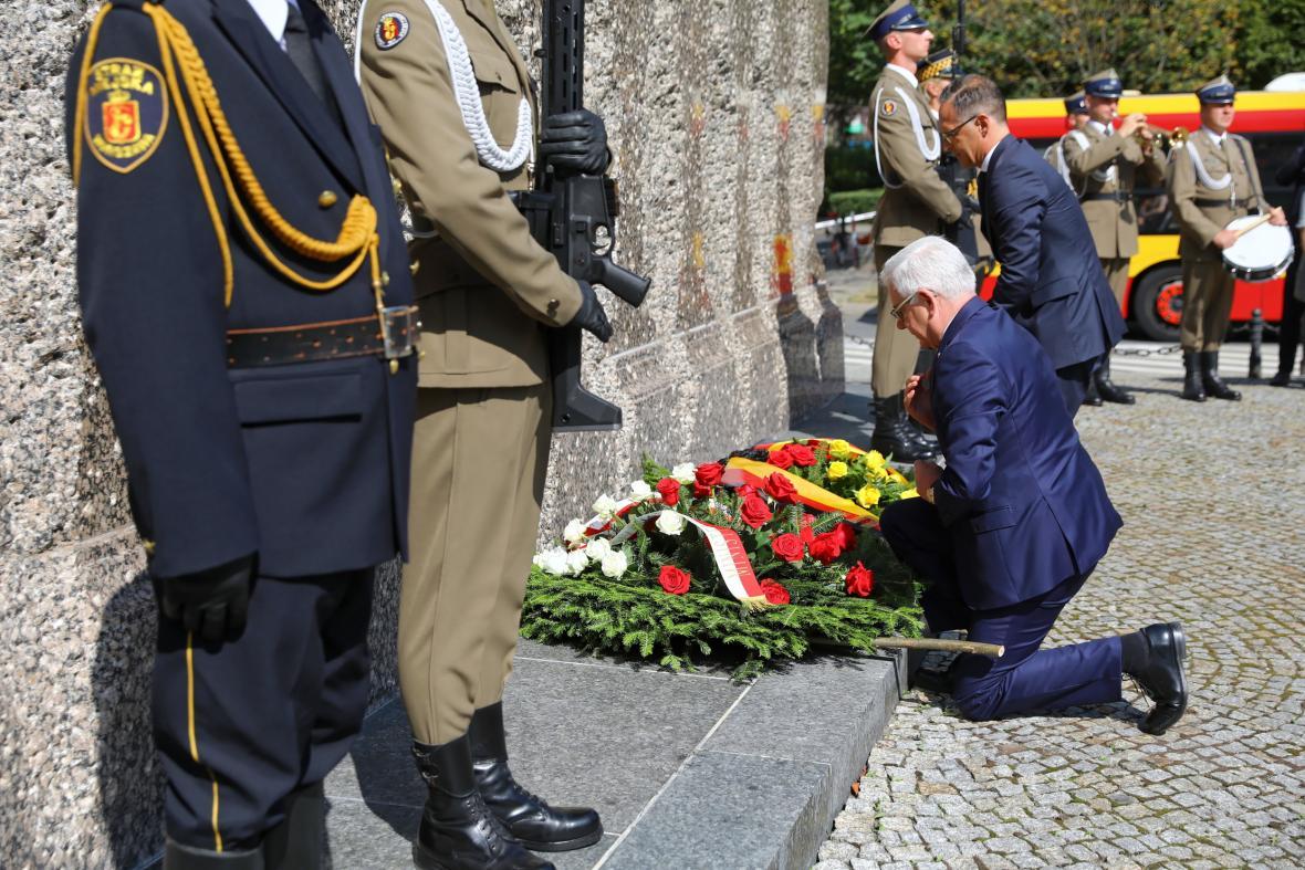 75. výročí povstání ve Varšavě