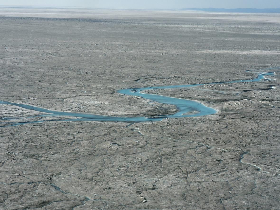 Tání ledovců v Grónsku