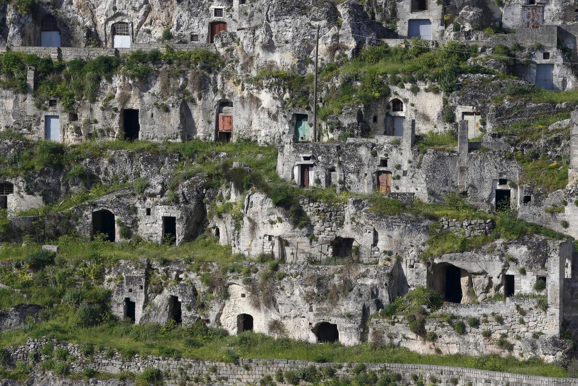 Italská Matera se stala oblíbeným cílem turistů