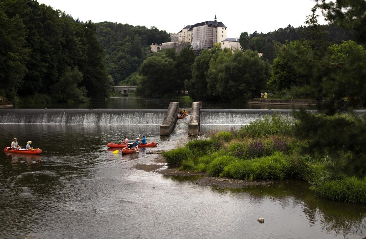 Nejnebezpečnější jezy v Česku