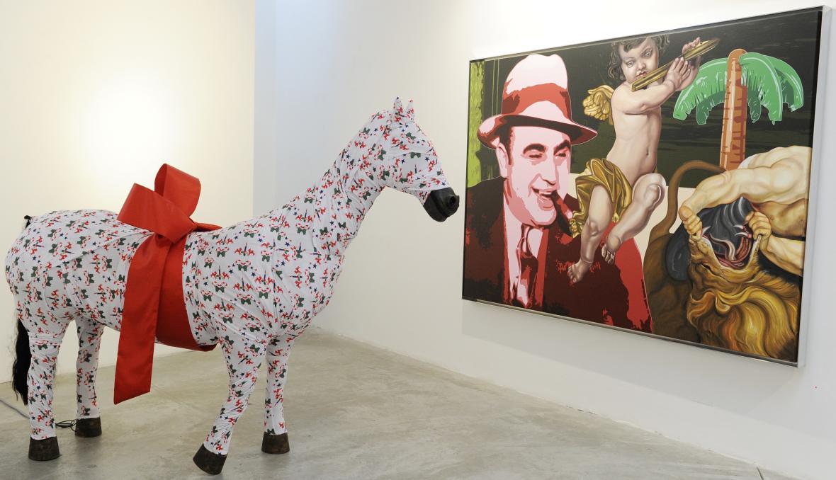 Z výstavy Art is Truth