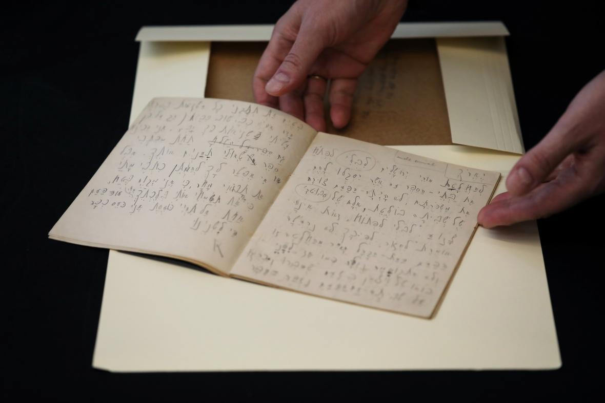 Dosud neviděné Kafkovy spisy