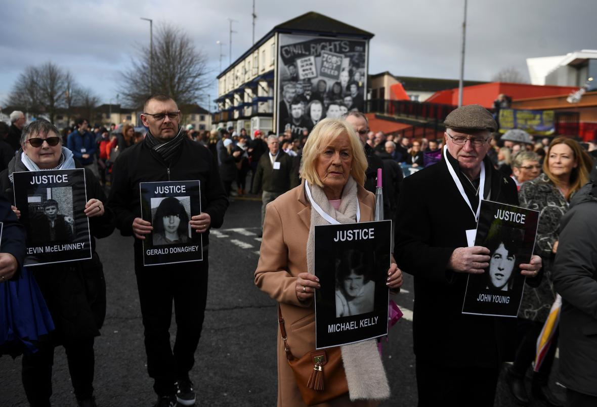 Lidé v Londonderry se spravedlnosti pro mrtvé dožadují i v roce 2019
