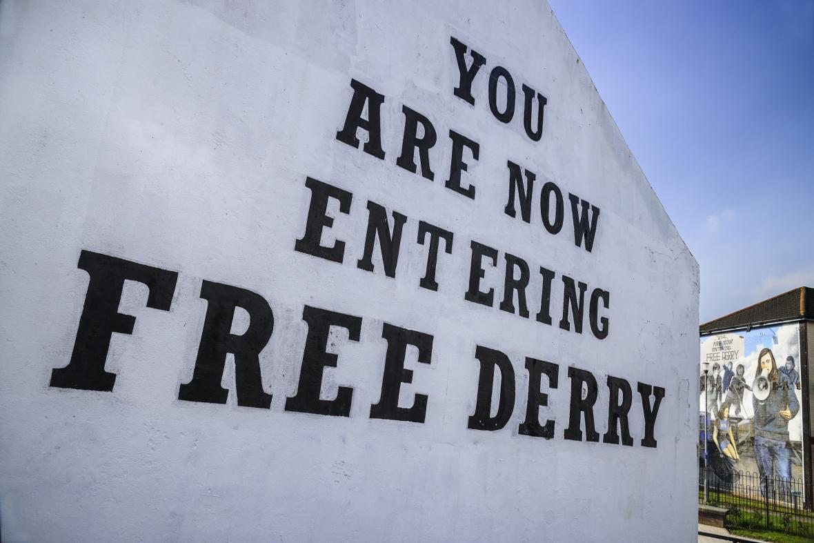 Severní Irsko si pamatuje trable
