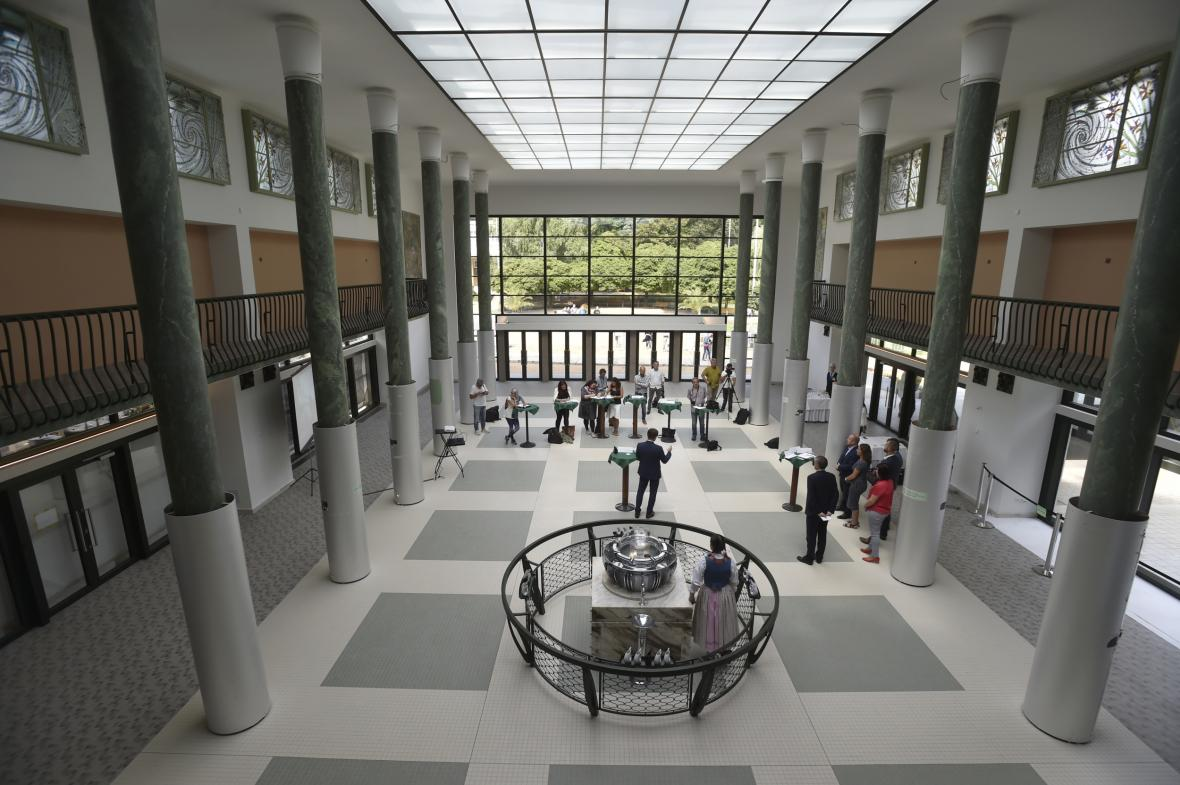 Luhačovická hala Vincentka se po opravách otevřela veřejnosti