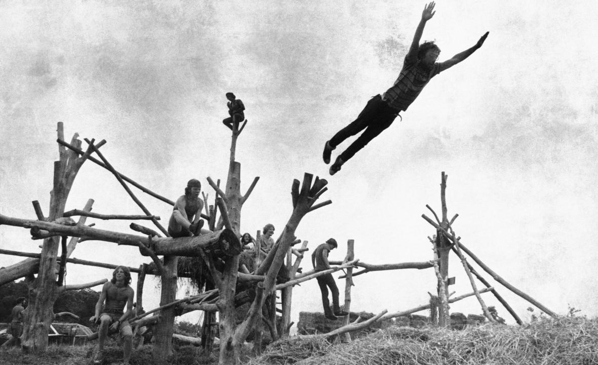 Dnes populární Santana na Woodstocku před 50 lety