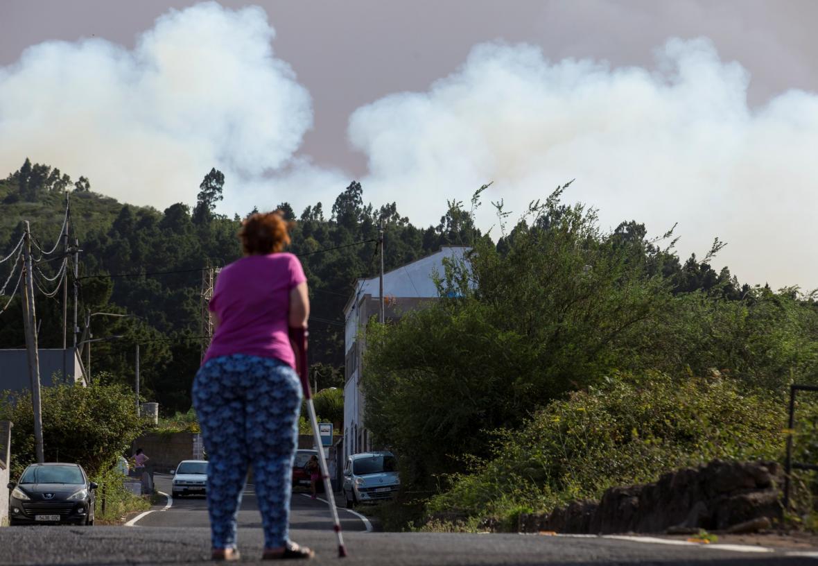 Požáry na Kanárských ostrovech