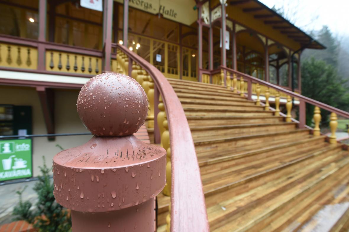 Secesní tančírna v Račím údolí na Jesenicku je kulturní památkou