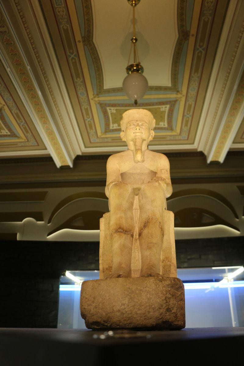 Z výstavy Tutanchamon RealExperience