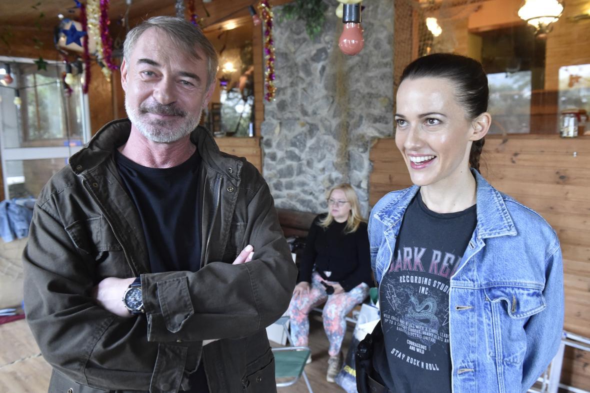 Filip Renč natáčí u Brna nový seriál Hlava Medúzy