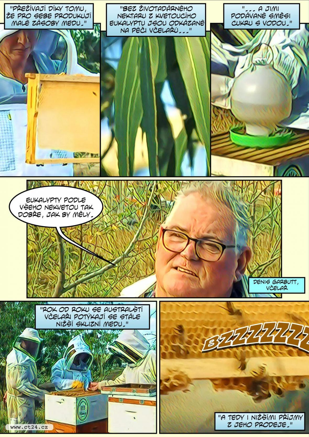 Včely komiks