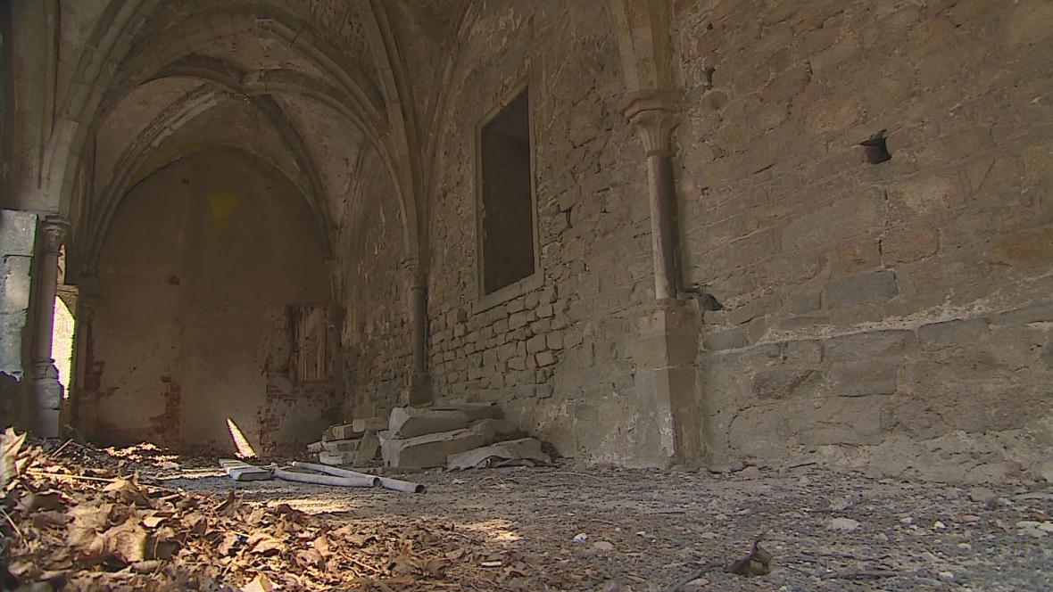 Rekonstrukce nejstarší části Louckého kláštera