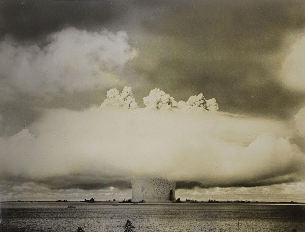Podvodní test Baker u atolu Bikini