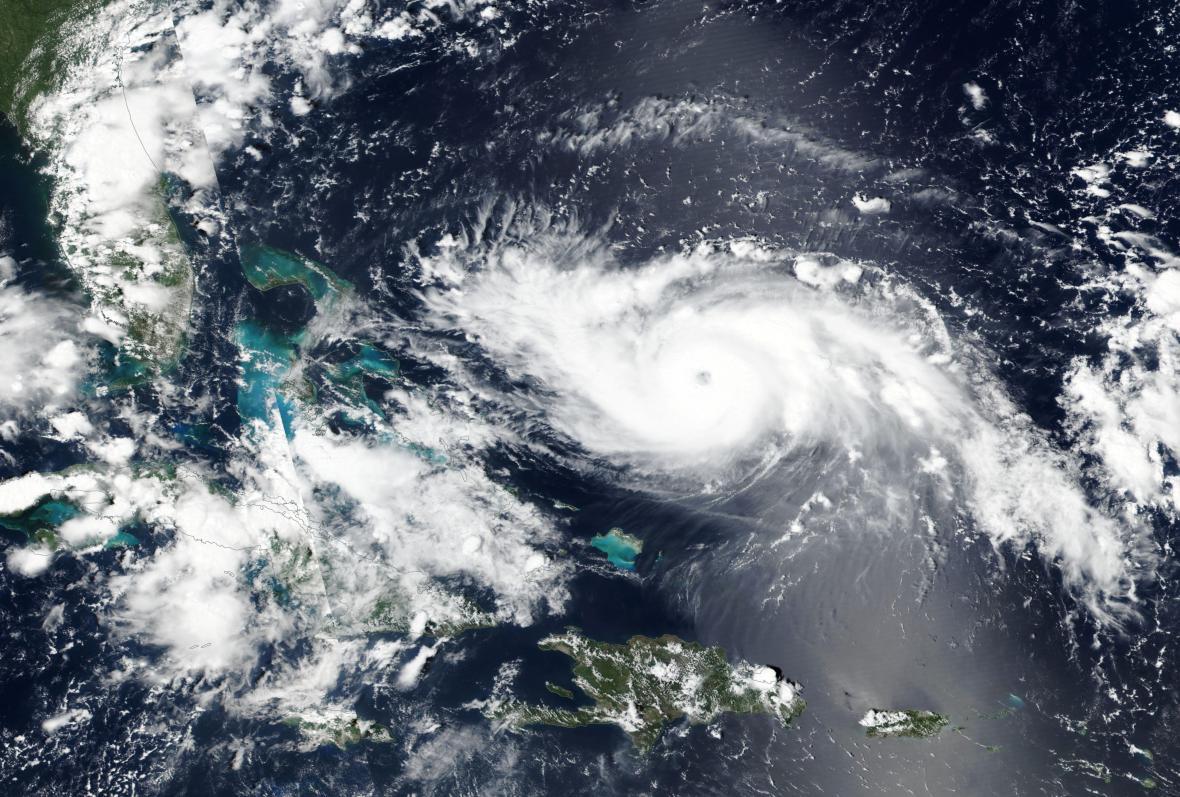 Hurikán Dorian 31. srpna