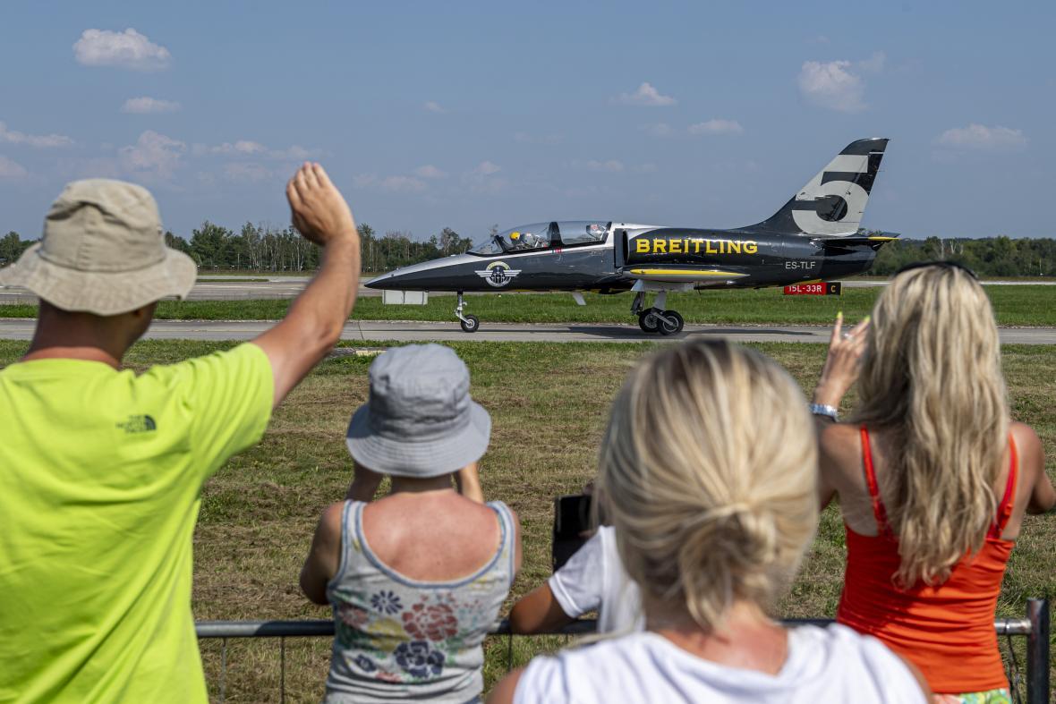 Letecká přehlídka CIAF na letišti v Hradci Králové